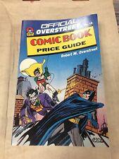 1989 Official Overstreet Comic Book Price Guide #19 Batman The Joker cover