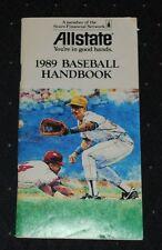 1989 Allstate Baseball Handbook