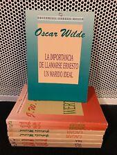 LA IMPORTANCIA DE LLAMARSE ERNESTO - UN MARIDO IDEAL Oscar Wilde Spanish Espanol