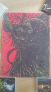 Krampus Print Godmachine Poster Limited Horror Cult Monster Rare Trick r treat