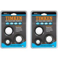 TIMKEN Boat/Marine Ford Trailer Wheel Bearing Kit - 2 Pack