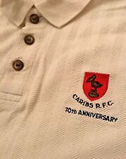 Caribs Trinidad Rugby Club Caribbean Ultra rare Rugby polo shirt XL jersey