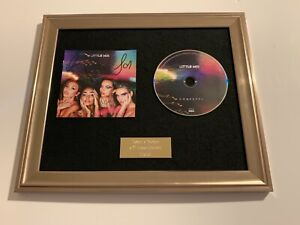 PERSONALLY SIGNED/AUTOGRAPHED LITTLE MIX - CONFETTI FRAMED CD PRESENTATION