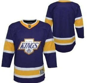 NHL Los Angeles Kings Special Edition Hockey Jersey New Youth Sizes MSRP $80