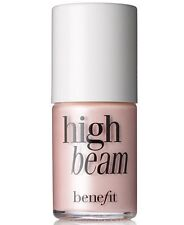 Benefit Cosmetics High Beam Liquid Face Highlighter 0.13oz/4ml Travel Size Unbox