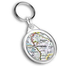 Keyring Circle - Kitzbuhel Austria Town Europe Travel Map  #45478