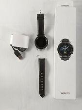 Samsung SM-R840NZSAXAR Galaxy Watch3 Smartwatch 45mm *Damaged Strap Pin*