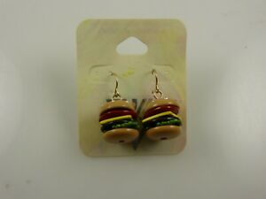 Katy Perry Prism earrings dangle Hamburger bling Claire.s