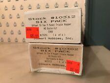 Nib Ho Stewart Offset 70 Ton 9 Panel Triple Hopper Kits: B&O & Burlington