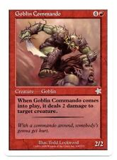 Starter ** 4x Goblin Commando (NM!) x4 ** Mtg Magic