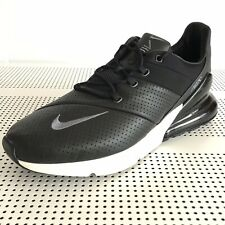 Nike Air Max 270 Premium Mens Shoes Black Leather AO8283-001 Size 13 New
