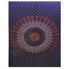 Large Kaleidoscope Mandala Single Tapestry