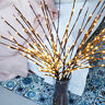 20 LED Decorative Twig Branch Fairy Flowers Light Home Party Lighting Decoration