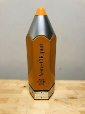 Veuve Clicquot Rare Pencil Tin  Champagne Storage Can Only