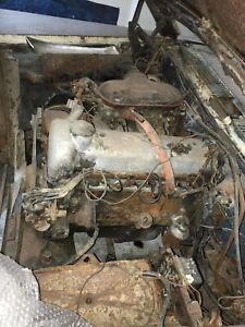 1958 mercedes ponton W180 220S engine & gearbox