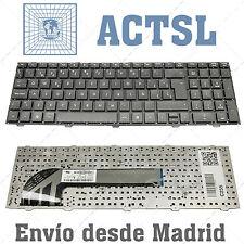 Teclado español para portatil HP ProBook MP-10M1 negro sin marco