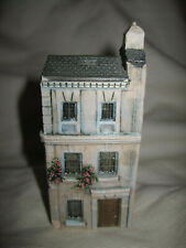 """Gault Miniature Porcelain Building Made in France 3-3/4"""" Tall"""
