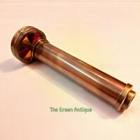 Antique Brass Kaleidoscope Nautical Collectible Gift