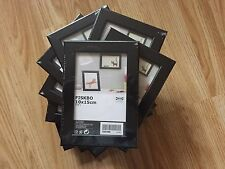 10 x IKEA fiskbo FOTO ARTE Frames 10 x15 cm 4 x 6 Pollici Nero - £ 12.99 GRATIS P&P