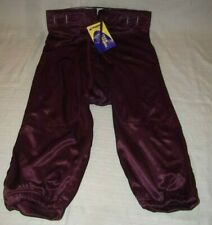 Champro Sports Athletic Adult Soccer Football Track Pants FPA8 L M Maroon Tie