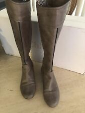 Chloe Leather Saturnia Knee High Boots Size 6.5