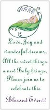 SAVE $$$ 25 BABY SHOWER  Invitations Cards Boy Girl