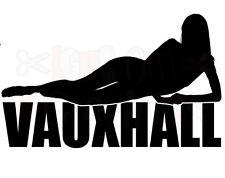 Grandi Vauxhall auto cofano adesivi CORSA ASTRA OPEL SEXY GIRL auto logo vinile divertente