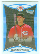 Brandon Waring Baltimore 08 Bowman Chrome Prospects Cd