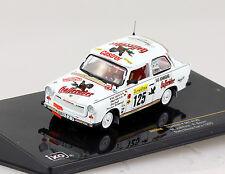 Trabant P 601 Rally Monte Carlo 1995 #125 1:43 Ixo Modellauto RAC059
