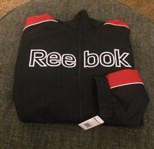 Nwt Reebok Baseball Coaches Jacket Mens Big&Tall Size 5XL (4XL) Blue/Red $180 C4
