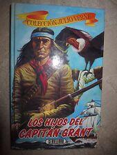Vtg HC book, Los Hijos Del Capitan Grant by Jules Verne, Servilibro 1980