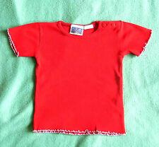 T-shirt * Rot Baumwollshirt  gr.92/98 Topolino *