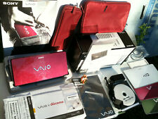 SONY VAIO type P VGN-P90HS Laptop DoCoMo japanese model Garnet Glossy in Box