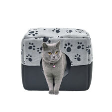 new arrive grey M dog hourse PAWZ Road soft sofa for pets cheap 3 uses cat bed