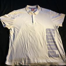 Puma Collared white Polo XL Good CONDITION & Quality