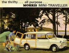 Morris Mini Traveller Car Jumbo Fridge Magnet