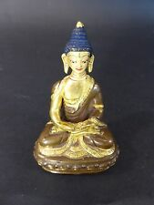 Buddha Bronze Tibet Thailand China Japan farbig gefasst