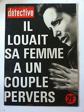 Détective du 02/02/1978; Affaire Jespers/ Wache et Pierru à St-Omer/ Gimenez