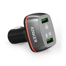 Quick Charge 3.0 Anker 42 W 2 Port USB Car Charger Power Drive