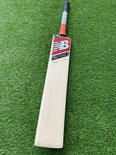 NB 1260 PLAYERS EDITION GRADE 1 ENGLISH WILLOW CRICKET BAT RED STICKER KNOCKED