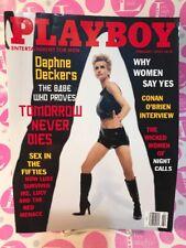 Playboy February 1998 Daphne Deckers CENTERFOLD: Julia Schultz ~ LIKE NEW/N MINT