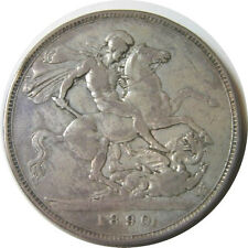 elf Great Britain Crown 1890 Victoria St George Horse Dragon