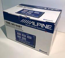 /////Alpine TME-M740BT - BNIB