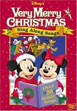 DISNEY'S SING ALONG SONGS :VERY MERRY CHRISTMAS - DVD - REGION 1 - SEALED