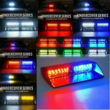Car 16 LED Red/Blue Amber/White Signal Viper S2 Police Strobe Flash Light Dash