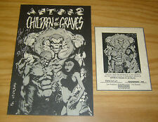 Aetos 2: Children of the Graves VF/NM ashcan - signed & numbered w/COA (50/500)