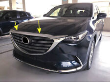 For Mazda CX-9 2016-2018 Exterior ABS Front Engine Cover Lid Cover Trim 1 pcs