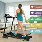 Folding Treadmill Portable Electric Motorized Running with Incline Fitness