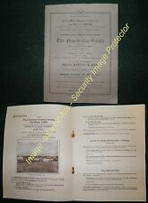 1948 NEWSHOLME ESTATE, GISBURN, Yorkshire, Sale brochure, Farm & Land  details