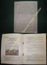 1948 NEWSHOLME ESTATE, GISBURN, Yorkshire, Sale brochure, Farm & Land  details
